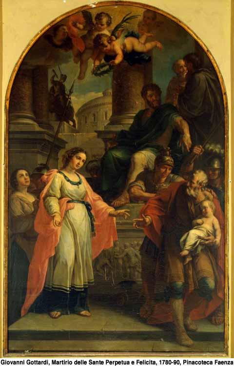Acta de Martirio de Santas Felicidad y Perpetua (año 203 d.C.) 1