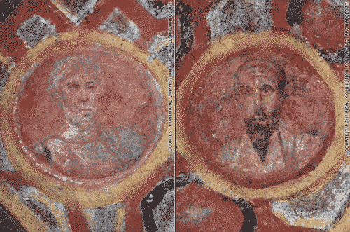 ¿Era éste el verdadero rostro de san Pedro y de san Pablo? 1