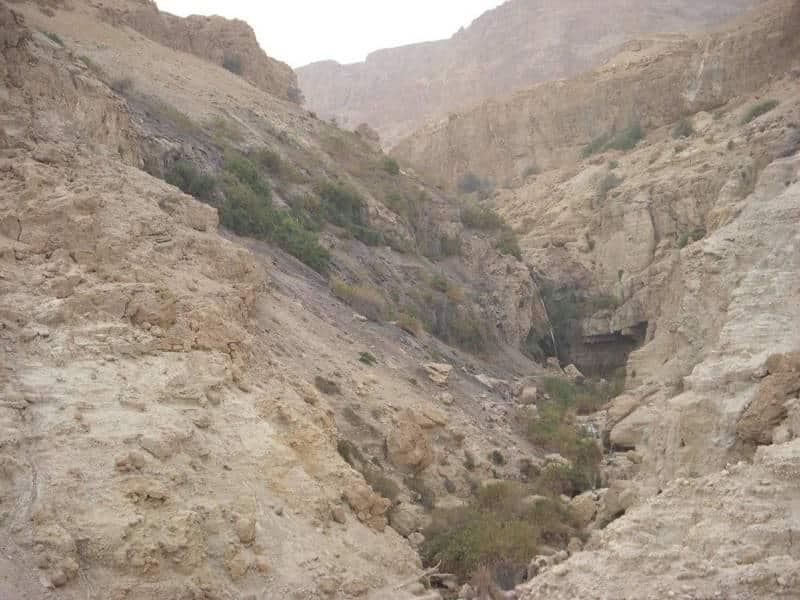 Cueva de Adulán, donde se escondió el rey David - Tierra Santa 1