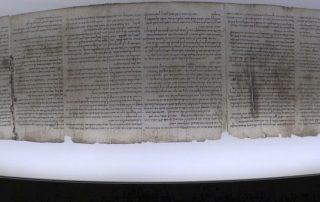 Manuscrito del Mar Muerto sobre el arca de Noé 1
