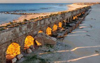 Cesarea Marítima: La casa de Pilato donde fue encarcelado San Pablo 1