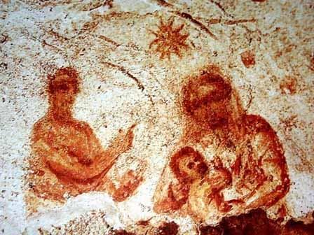 Representación más antigua de la Virgen María 1