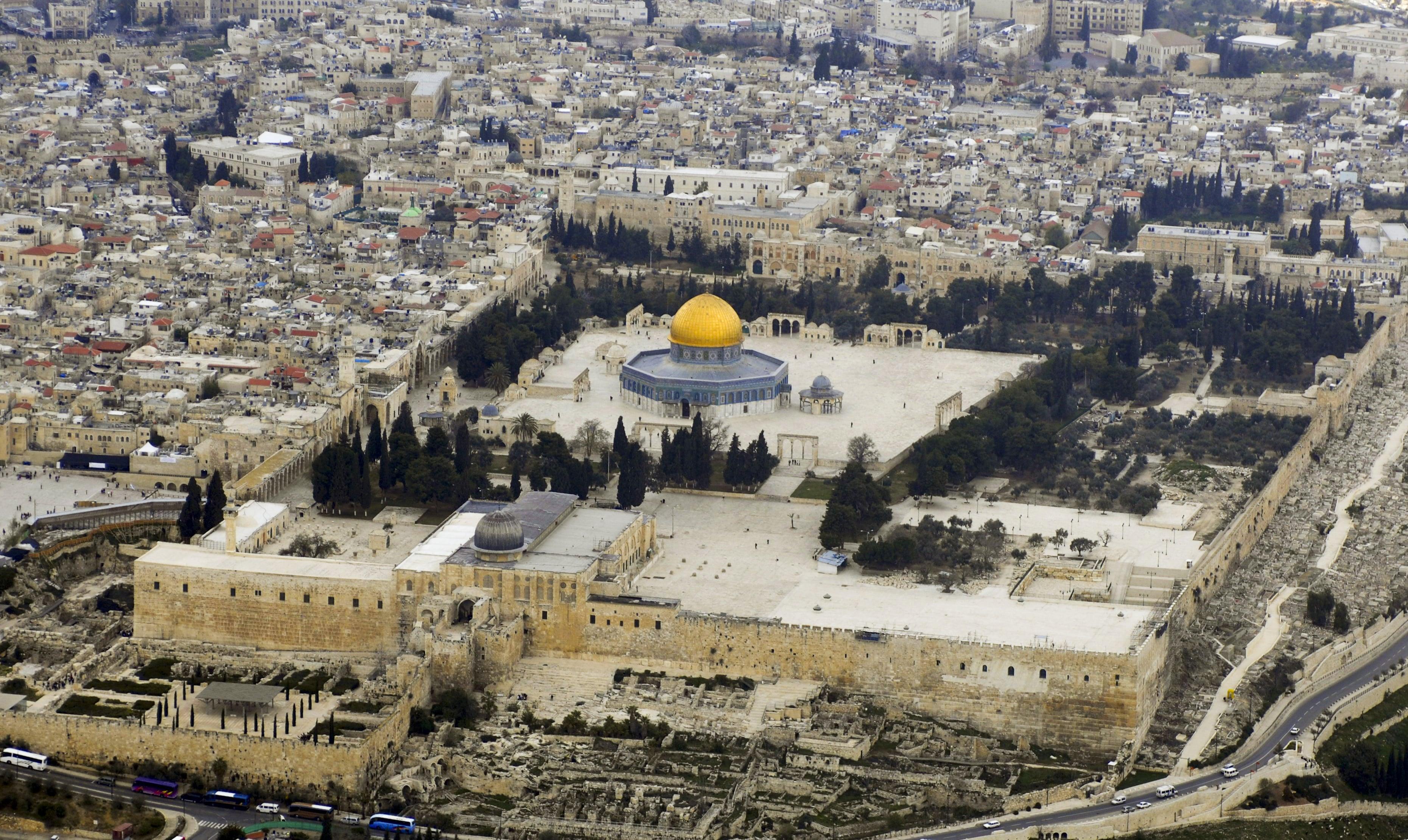 Monte Moriah , Jerusalén - Lugares de Tierra Santa 1