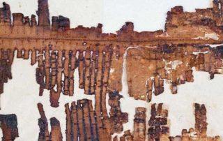 Un pergamino de 2.000 años confirma el diluvio universal 1