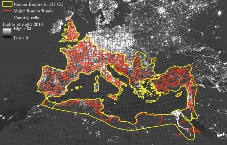 Las calzadas romanas siguen contribuyendo a extender la prosperidad 1