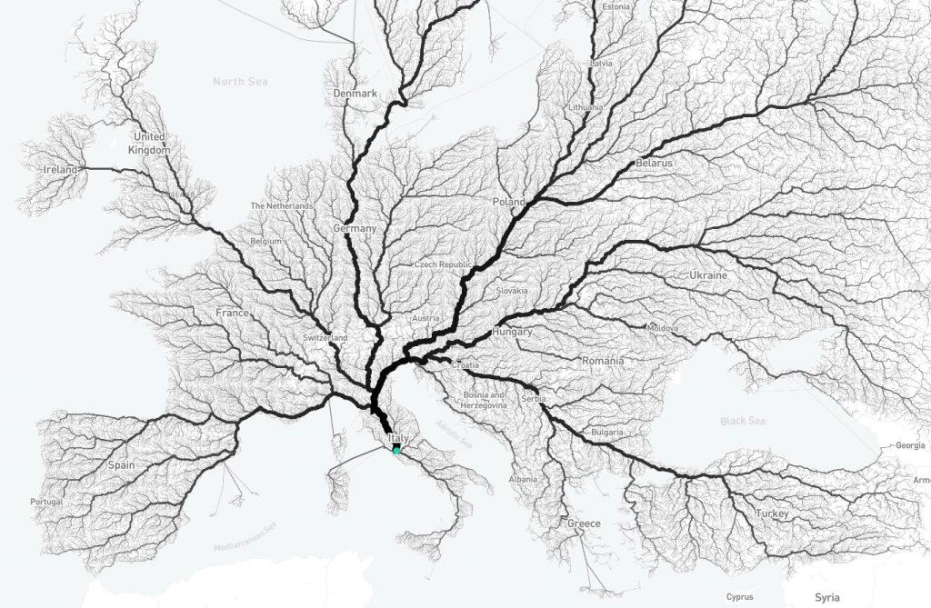 ¿Es verdad que todos los caminos conducen a Roma? 1