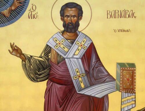 San Bernabé, Apóstol – ¿Sabes quién era?
