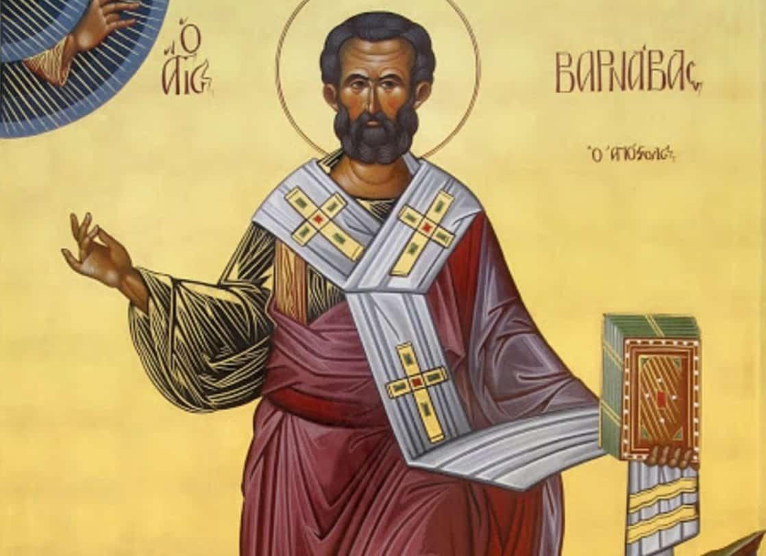 San Bernabé, Apóstol - ¿Sabes quién era? 1