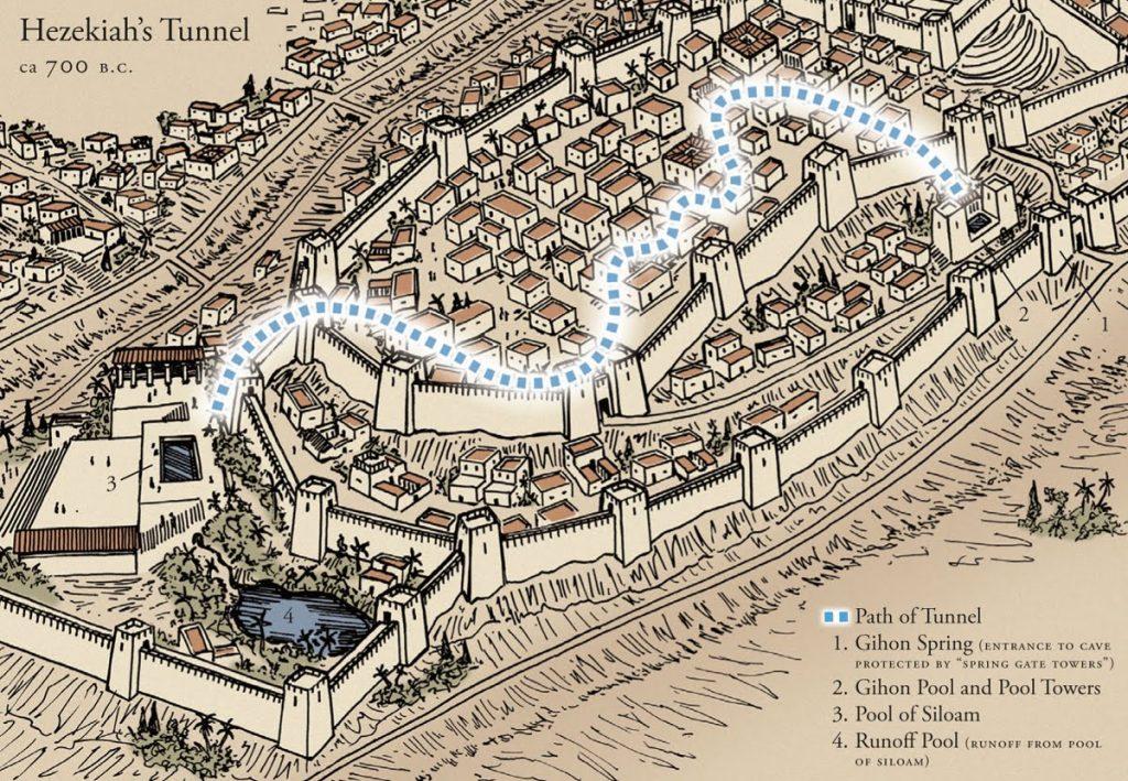 ¿Qué sabes del tunel del rey Ezequías? 2