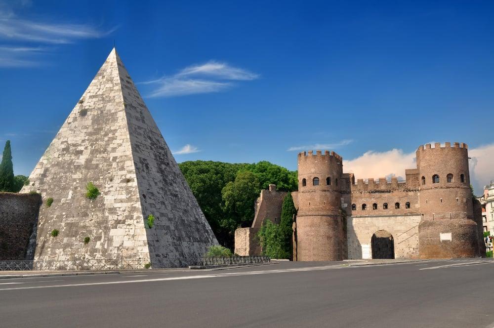 Las Murallas Aurelianas - el monumento más grande de la #Roma imperial 1