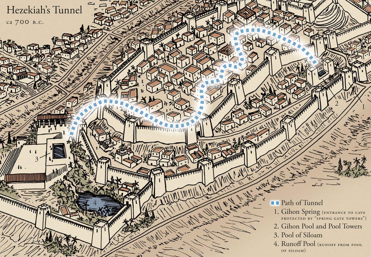 ¿Qué sabes del tunel del rey Ezequías? 1