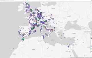 Reconstruyen las principales rutas del antiguo Imperio Romano 1