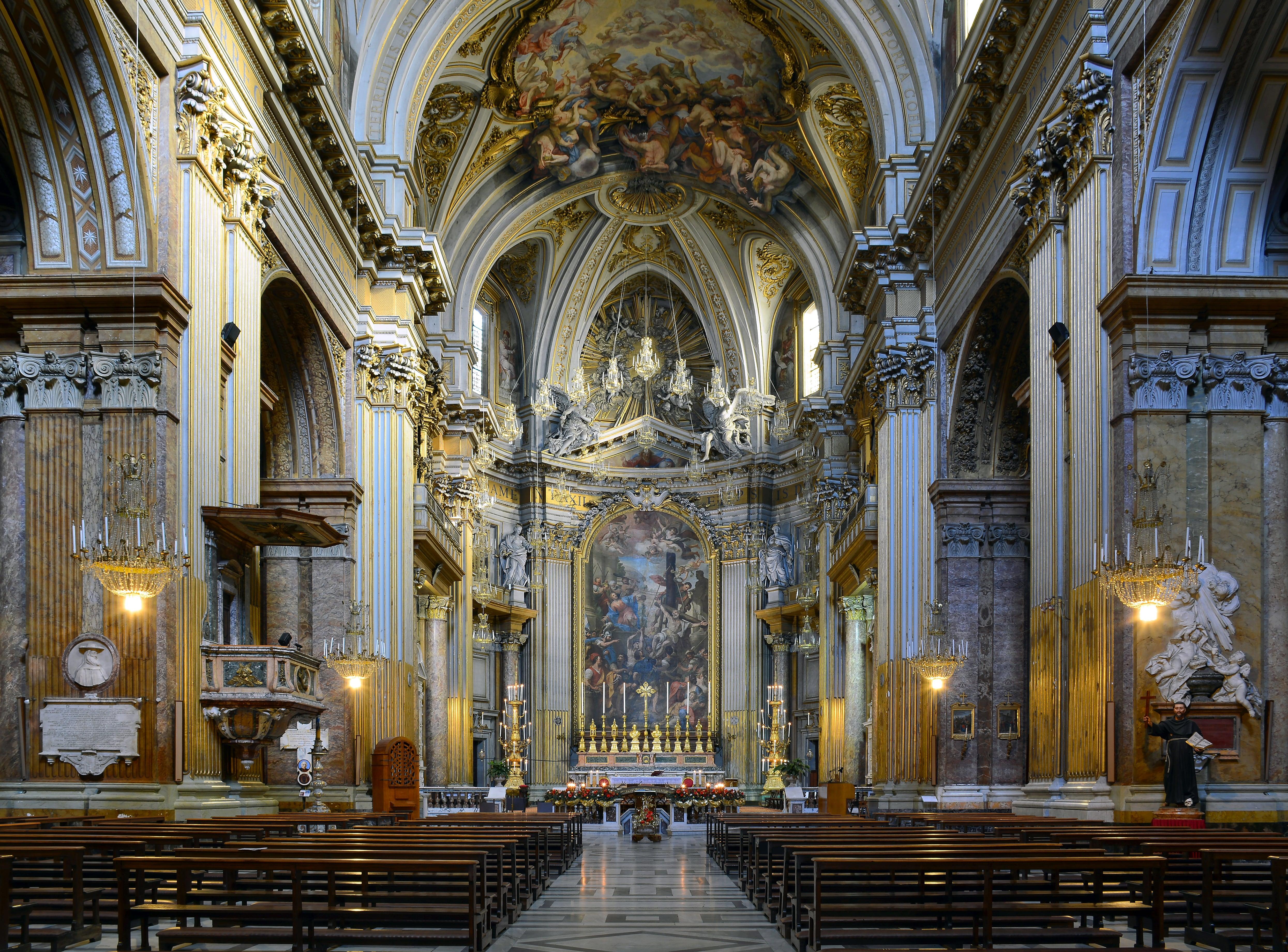 La iglesia de Roma que guarda los restos de dos apóstoles y cuatro mártires 1