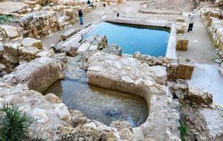Ein Hanniya - Tesoro arqueológico donde san Felipe bautizó al Eunuco etíope 1