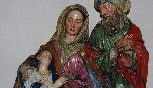 San Joaquín Y Santa Ana Los Abuelos Abuelos De Jesús Padres De La