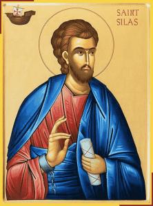 San Silas (o Silvano), Compañero de misión de San Pablo - 13 julio 2