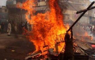 Brutal asesinato de nueve cristianos tras quemar la iglesia en la que se encontraban 1