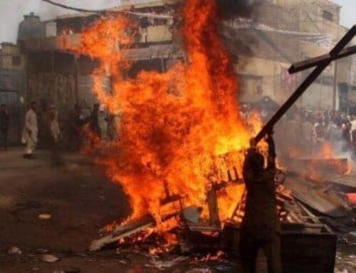 Brutal asesinato de nueve cristianos tras quemar la iglesia en la que se encontraban