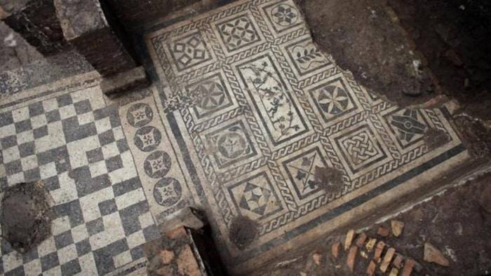 Descubren la casa de un comandante del siglo II en las obras del metro de Roma 1