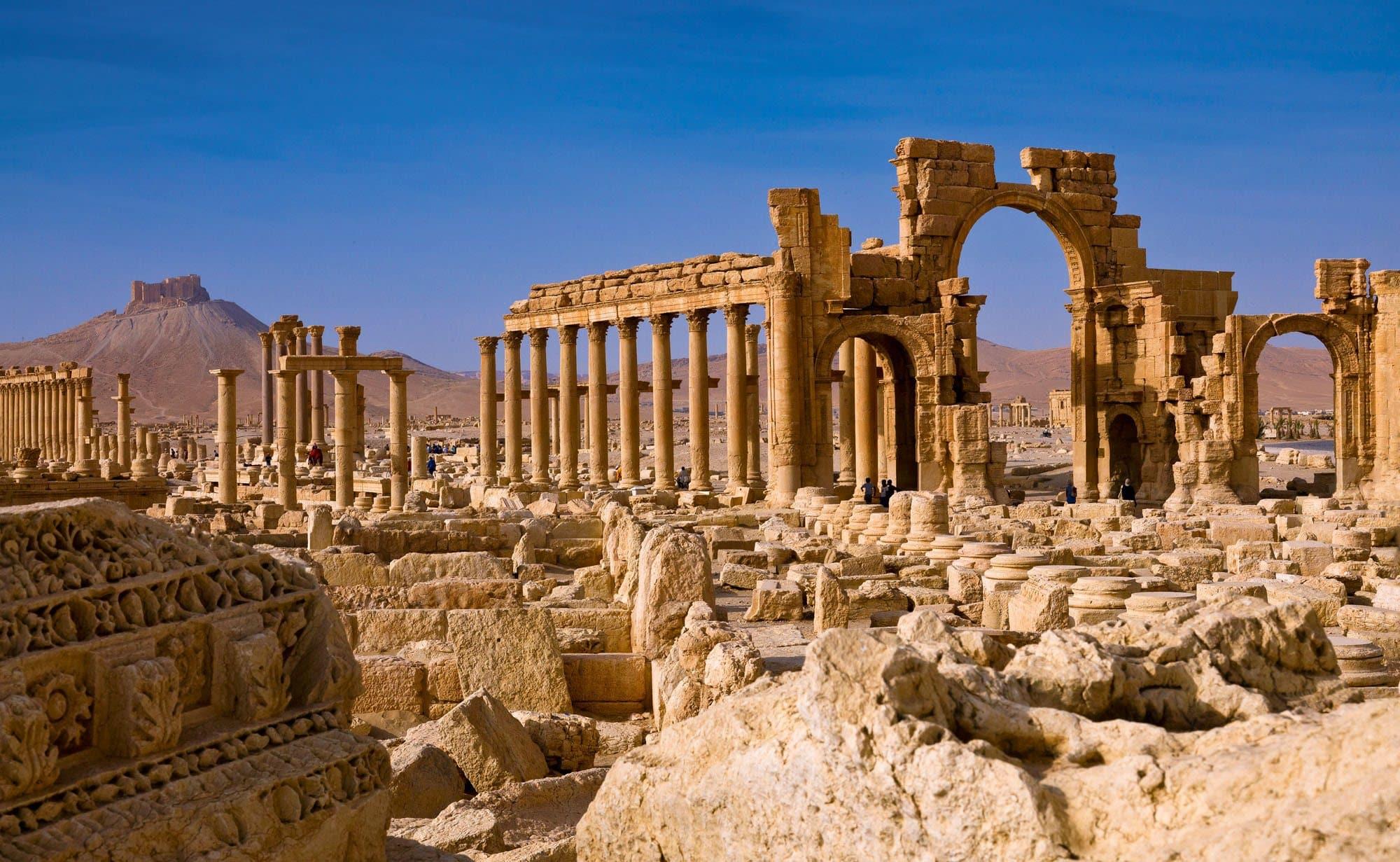 La ciudad siria de Palmira reabrirá sus puertas 1