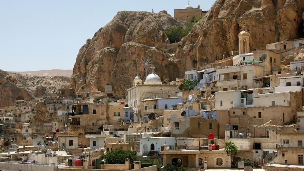 Reabre el monasterio de Santa Tecla en Maalula 1