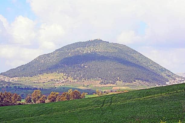 El Monte Tabor, Galilea - Tierra Santa 1