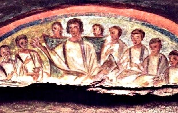 ¿Cómo era la Misa en el siglo III? - se celebrada en casas particulares 1