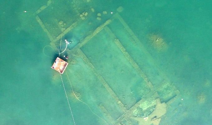 Descubren una iglesia del siglo IV sumergida en un lago de Turquía - En la antigua Nicea 1