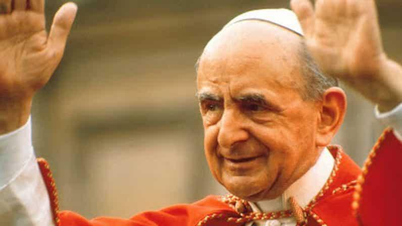 Siete cosas que no sabes sobre Pablo VI 1