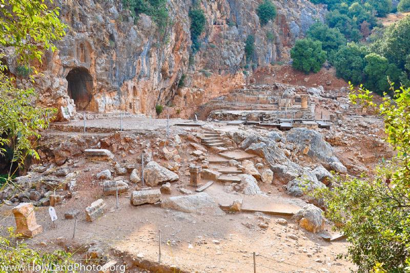 Cesarea de Filipo - Lugar en el que Jesús confió a Pedro las llaves del Reino 1