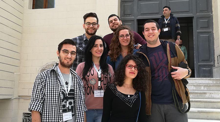 """Jóvenes en Siria: """"Necesitamos sentirnos acompañados por la Iglesia para sentirnos cerca de Dios"""" 1"""