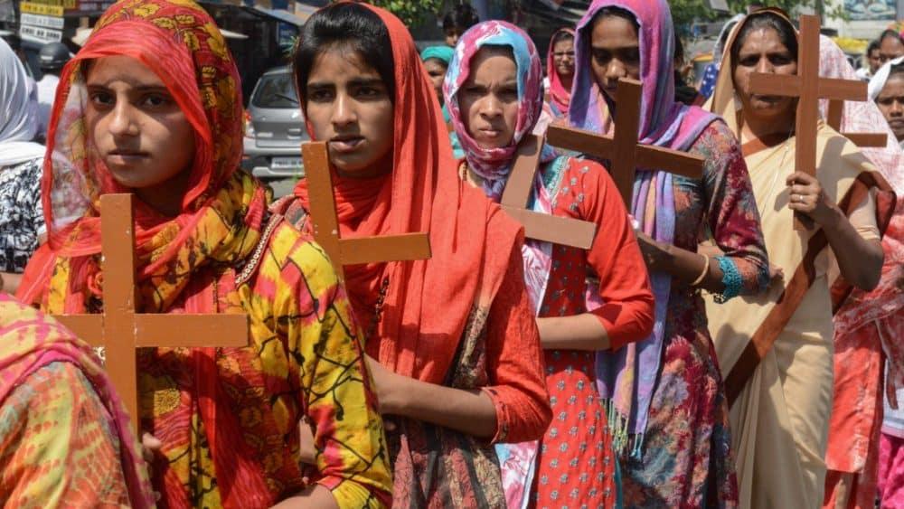 Cristianos en India rezan por el fin de las persecuciones 1