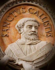 San Calixto I, Papa - 14 de Octubre 2