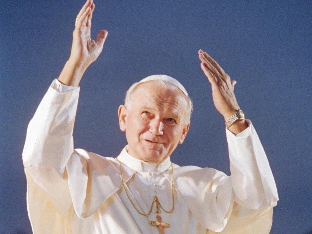 Las mejores fotografías de un Papa inolvidable, Juan Pablo II 1