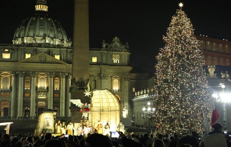 El árbol de Navidad lucirá en el Vaticano a partir del 7 de diciembre 1