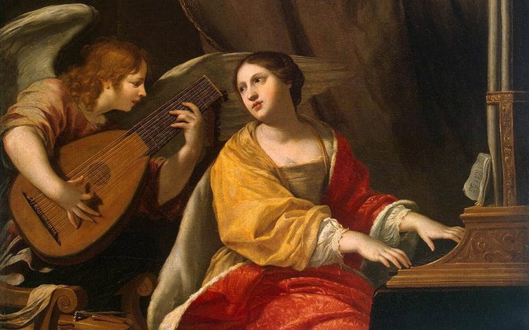 Santa Cecilia, virgen y mártir - 22 de noviembre,  Patrona de la música 1