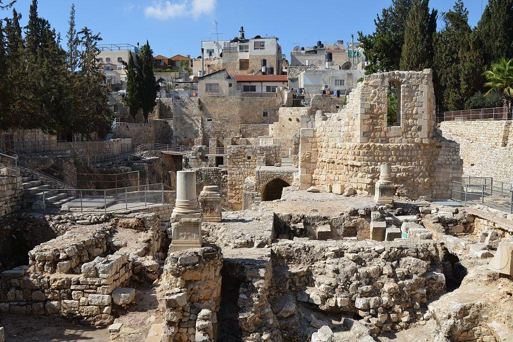 La piscina bíblica de Betesda, ¿mito o realidad? - Jerusalén 1