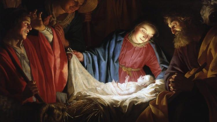 Nacimiento de Jesús en Belén 1