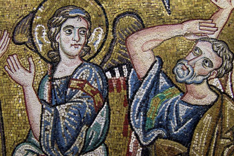 Basílica de Belén: los mosaicos recuperan su brillo justo antes de Navidad 1