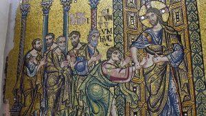 Basílica de Belén: los mosaicos recuperan su brillo justo antes de Navidad 3