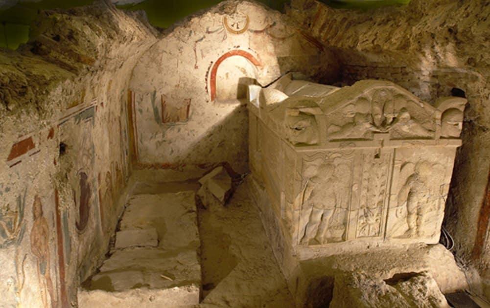 Magnífico conjunto sepulcral del cristianismo primitivo - Necrópolis húngara de Pécs 1