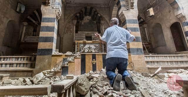 1.000 «mártires», 120 iglesias destruidas, colegios, monasterios...: datos del cristianismo en Siria 1