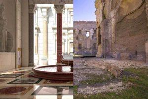 La tercera dimensión devuelve a las termas de Caracalla a su máximo esplendor - Roma 2