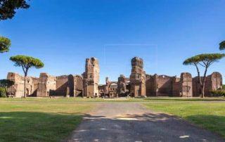 La tercera dimensión devuelve a las termas de Caracalla a su máximo esplendor - Roma 1