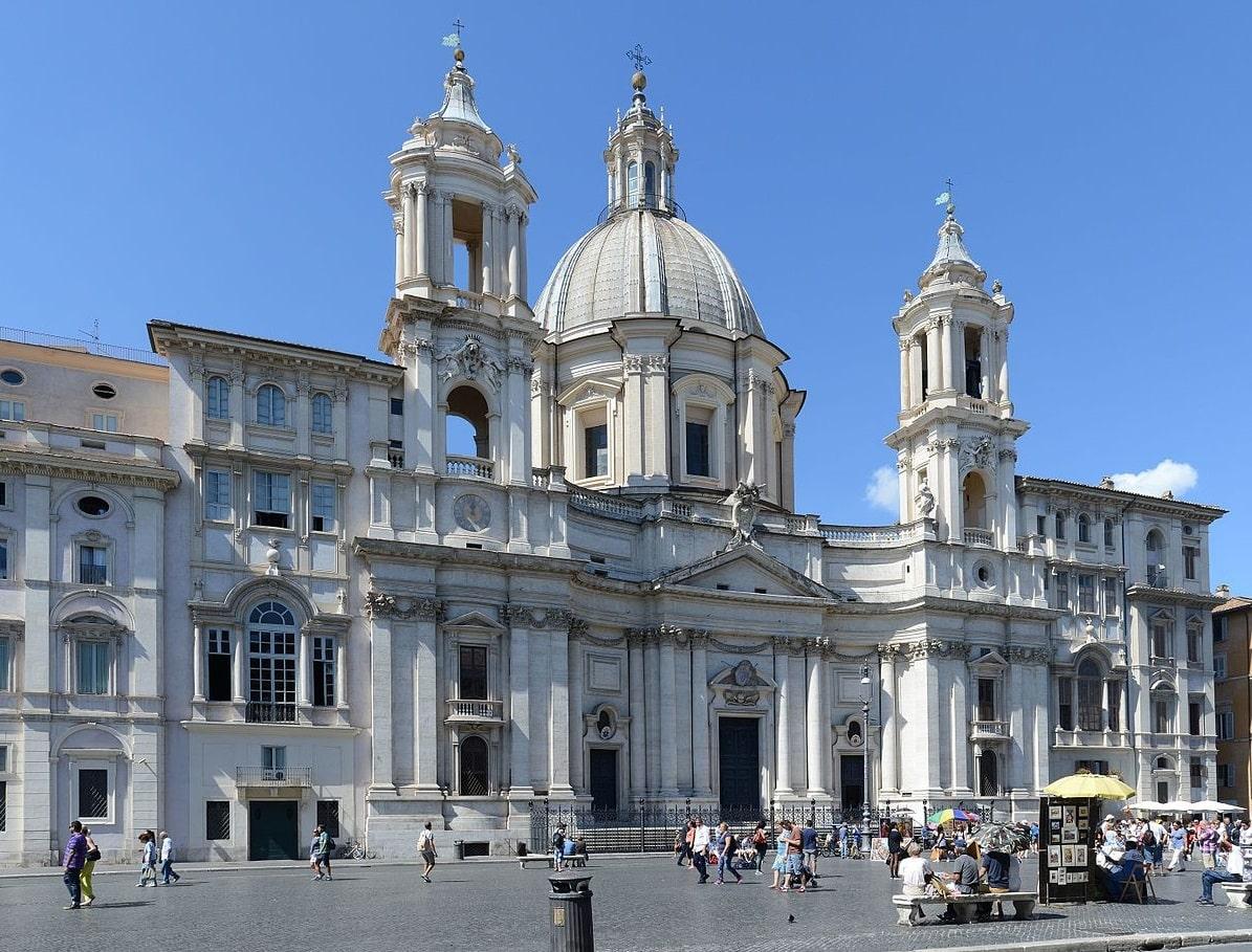 Iglesia de Santa Inés en Agonía - Roma 1