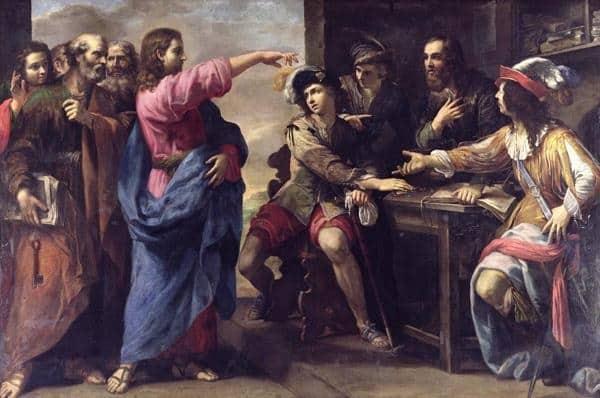 Los recaudadores de impuestos de Galilea - como Leví 2