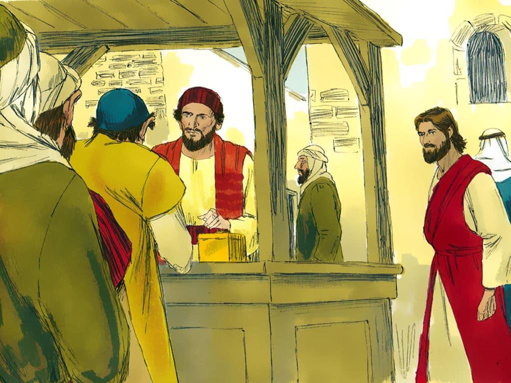 Los recaudadores de impuestos de Galilea - como Leví 1