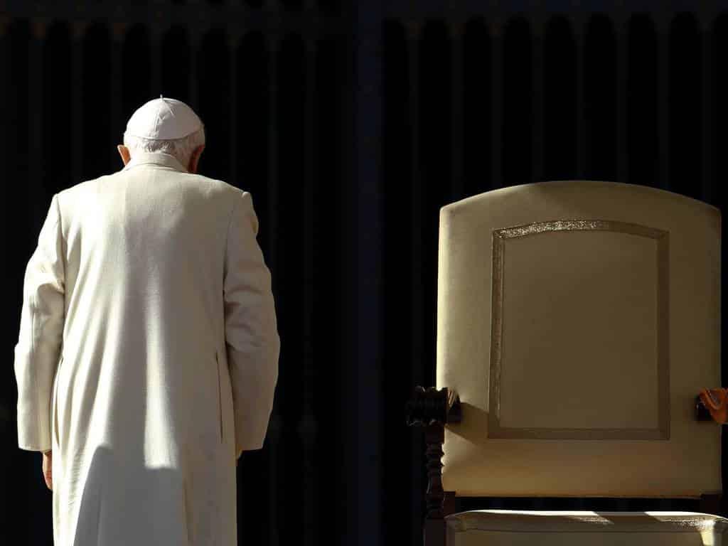 La decisión de Benedicto XVI que cambió a la Iglesia católica 1