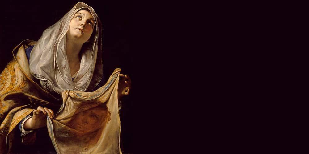 La mujer que limpió la cara de Jesús... ¿se llamaba Verónica? 1