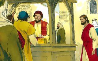 Los recaudadores de impuestos de Galilea - como Leví 7
